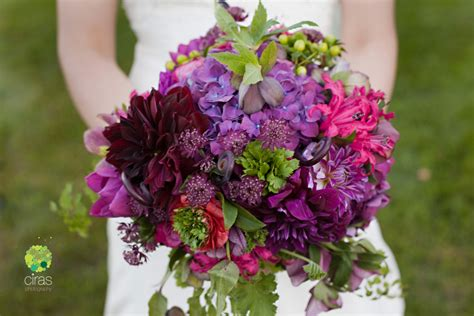purple green and silver an farm wedding petalena creative designs for weddings and