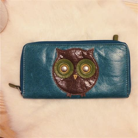 Fossil Vrv Trifold Clutch Navy 73 fossil clutches wallets fossil owl wallet