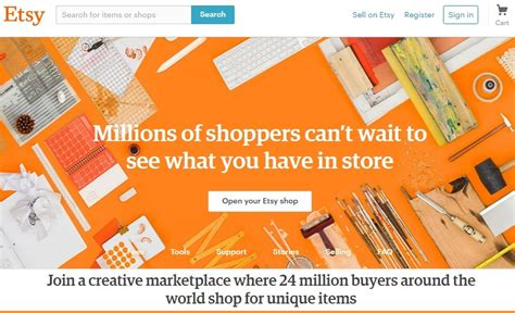 Handmade Craft Websites - best site to sell handmade craft items