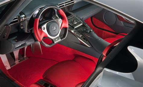 Lexus Lfa Interior by Car And Driver
