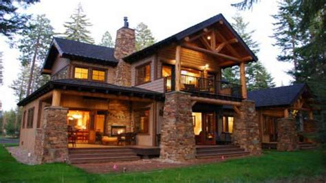 Colorado Style Home Plans | colorado style homes mountain lodge style home plans