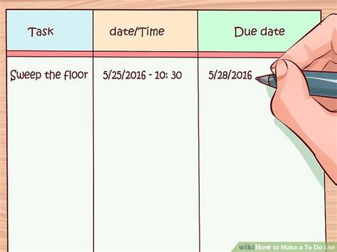 how to make a to do list 10 steps with pictures wikihow