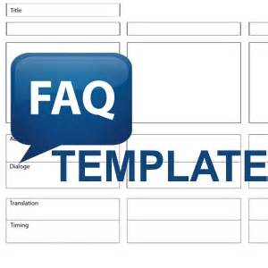 frequently asked questions template frequently asked questions template mancini digital
