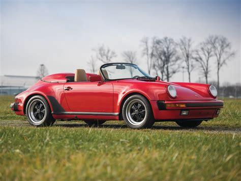 Rm Sotheby S 1989 Porsche 911 Speedster Amelia Island 2017