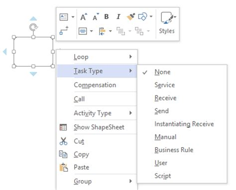 visio subprocess exle introducing bpmn 2 0 in visio office blogs
