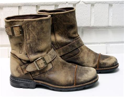 s ugg australia rockville winter motorcycle boots