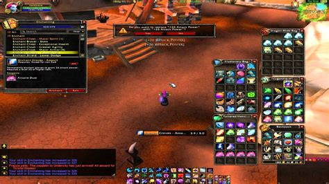 enchanting do all require a wow enchanting macro great for leveling