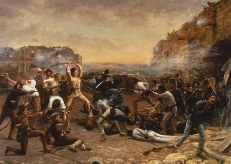 the siege of the alamo 10 things you may not about davy crockett history lists
