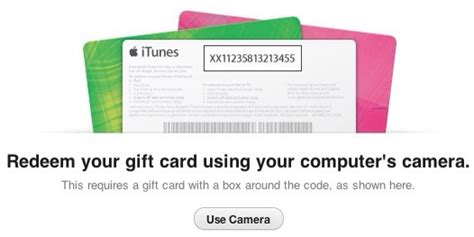 How To Use Apple Gift Card - redeem your itunes gift card using the camera on your apple device itunes apps