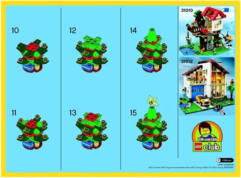 lego christmas tree instructions 30186 creator