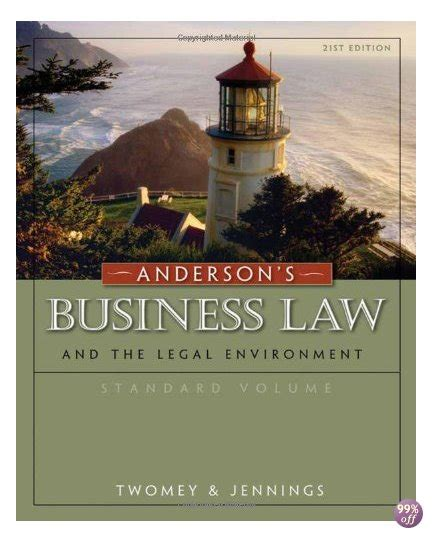 Test Bank For Andersons Business Law And The Legal