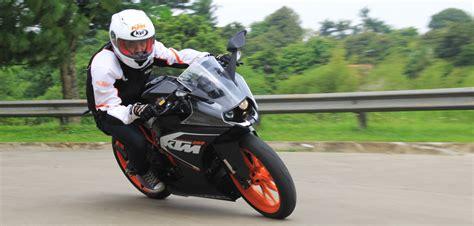 Ktm Test Ride Test Ride Ktm Rc200 Performa Sebanding Dengan Harga