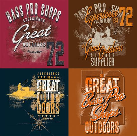 Pro Shopping Season by Bass Pro Shops Apparel Design On Wacom Gallery