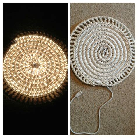 crochet light rug crocheted light rug i just made it and i really