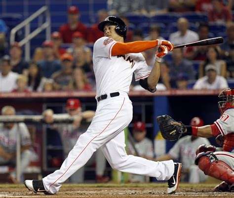 giancarlo stanton swing he signed for how much 9 inning know it all