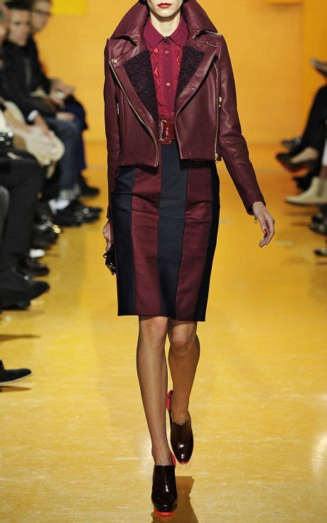 Dijamin Blazer Kenzo Maroon Black burgundy leather jacket two trends in one kenzo w a l k i n c l o s e t