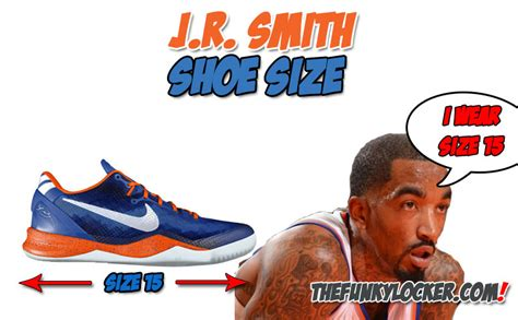 jr smith shoe size find out what size sneakers smith wears