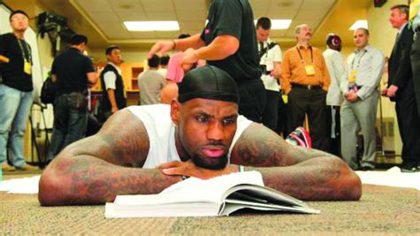 who reads lebron the bookworm in the clutch stlamerican