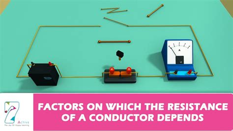 what factors affect the resistance of a resistor factors on which the resistance of a conductor depends