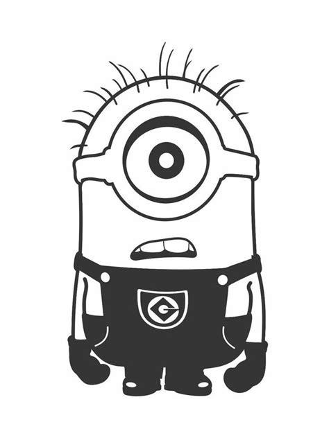 minion eyes printable black and white one eye minion clipart black and white