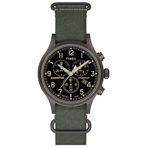 Expedition E6678m Green Yellow timex expedition scout chrono slip thru green black