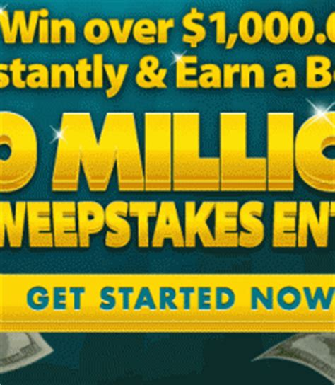 Everyone Wins Sweepstakes - 10 000 000 pch instant win sweepstakes sweeps maniac