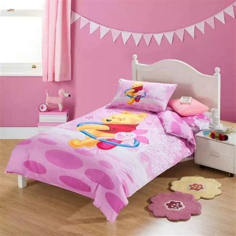 winnie the pooh twin comforter pink winnie the pooh bedding sets single twin size