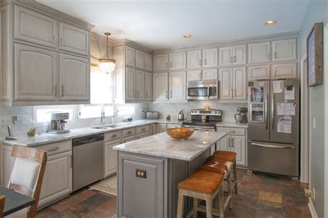 painted gray kitchen cabinets gray painted kitchen cabinets transitional kitchen