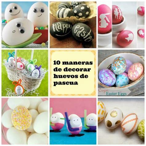 huevos decorados para la escuela 45 ideas de decorados para semana santa y pascua