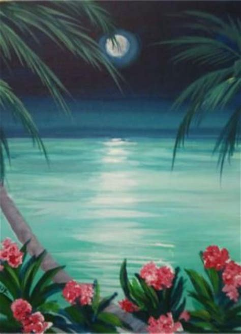 good painting ideas paradise from merlot2masterpiece shows really good palm