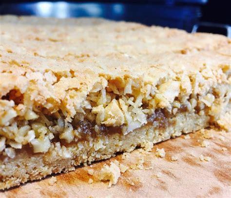 Cashew Crumble slices bars feeding time