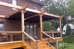 How To Build A Pergola Attached To The House by 187 Pergola Plans Attached To House Freefreewoodplans