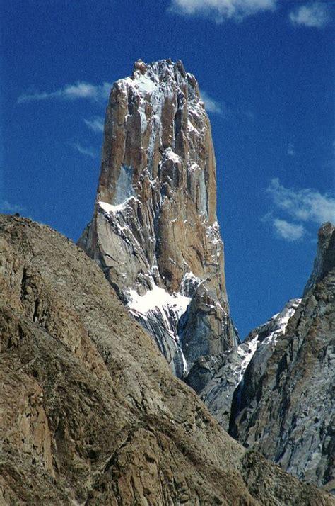Trango Nameless Tower 12 trango nameless tower up from baltoro glacier