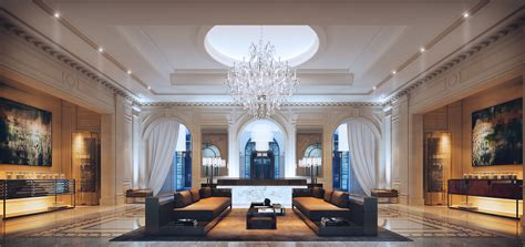 Making of Four Seasons Hotel Lobby   Evermotion