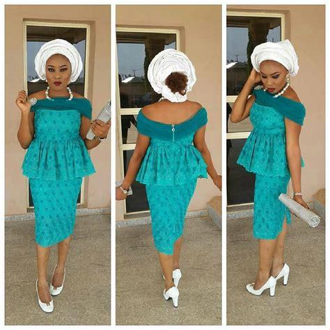lace dress aso ebi style nigeria beautiful divas slaying aso ebi in a million styles a