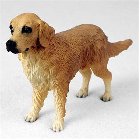 golden retriever figurine golden retriever painted collectible figurine代拍 海外代购 美国代购