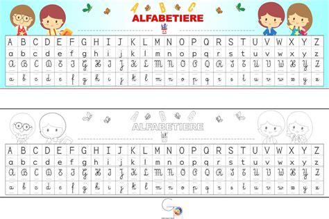 lettere dell alfabeto da colorare e stare lettere dellalfabeto da colorare in formato a4 pagine da