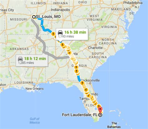 driving so florida to northwest in july what routes best ideas travel airfare hotels