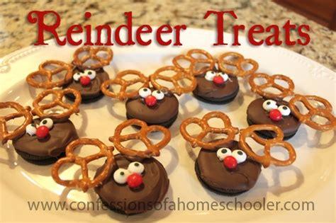 diy reindeer treats confessions of a homeschooler