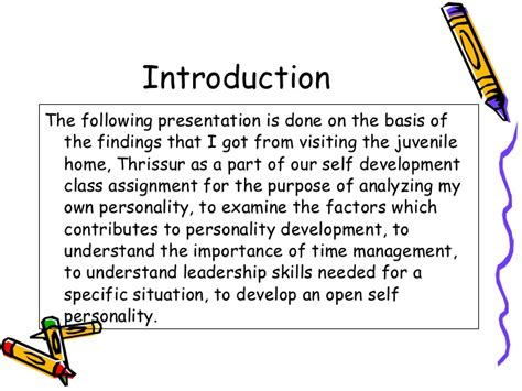 research paper on personality development essay importance personality development