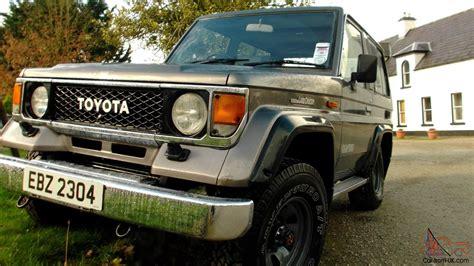 Toyota Landcruiser 70 Series For Sale Uk Toyota Landcruiser 70 Series
