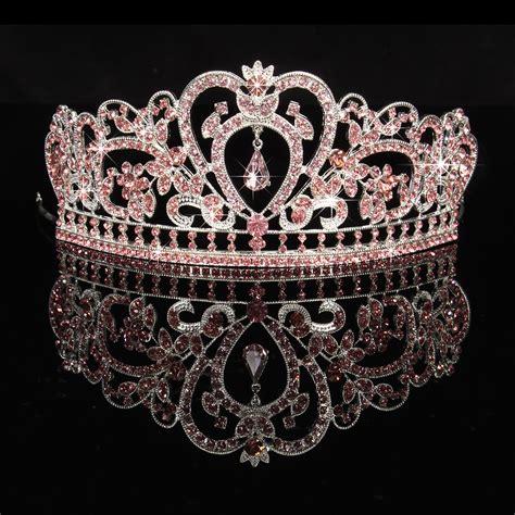 Princess Wedding Crown rhinestone wedding tiara crown prom pageant princess crowns bridal veil headband