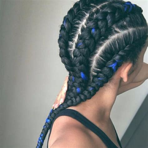 Black And Blue Hairstyles by 30 Cool Braids To Inspire You My New Hairstyles