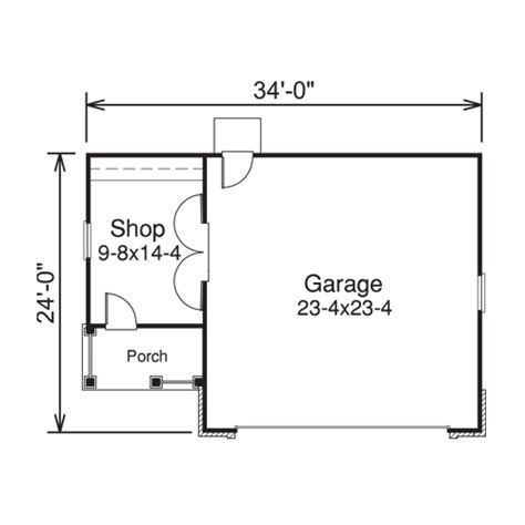 garage workshop floor plans heritage 2 car garage plans