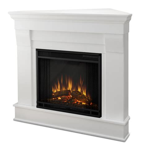 Fireplace Canada Real 5950e Chateau Electric Corner Fireplace Lowe