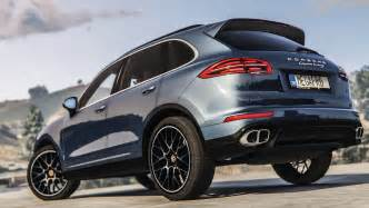 Porsche Cayenne S Turbo 2016 Porsche Cayenne Turbo S Add On Replace Gta5