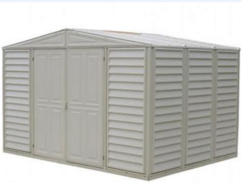 Sheds On Sale Free Shipping by Duramax 00284 Woodbridge 10 5x8 Vinyl Shed On Sale With