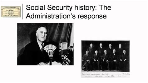 section 207 of the social security act social security history the foundation years youtube