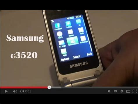 Samsung C3520 By samsung c3520 review