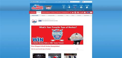 Kraft Sweepstakes - price chopper and kraft hockey sweepstakes